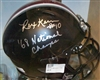 Rex Kern Black Full Size Replica Helmet