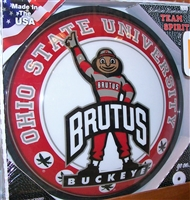 Slimline Illuminated Round Brutus Wall Sign