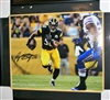 Ryan Shazier Signed 16 x 20 Framed