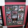 Troy Smith Signed Collage 16 x 20 Framed
