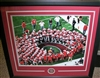 Urban Meyer Signed 14 x 20 Framed