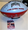 Urban Meyer Signed Championships Football