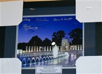WWII Memorial Heroes Signed 8 x 10 Framed