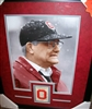 Woody Hayes Signed 1968 Schedule Card w/ 11 x 14 Framed