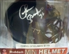 Chris Spielman Black Mini Helmet