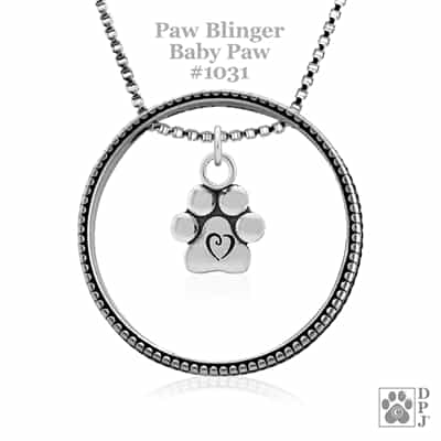 Baby Paws Necklace, Best Gifts For Dog Lovers