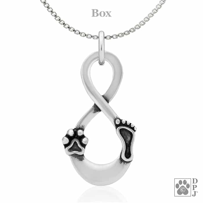 Memorial Necklace Dog Necklaces Personalised INFINITY CHIHUAHUA Necklace Chihuahua necklace Puppy Name Necklace