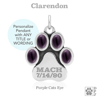 Personalized Designer Dog Jewelry, Personalized Designer Dog Necklace