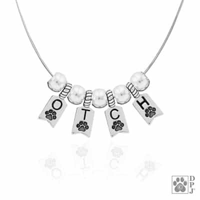 OTCH Obedience Trial Champion necklace