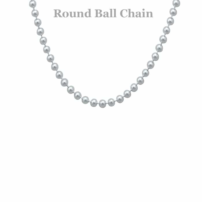 free chain sterling silver nickel sabrinasilver pallini necklaces impl ball bracelets shopcart home faceted chains thin bead