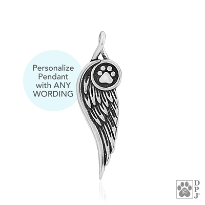 Personalized Sterling Silver Let Me Carry You Home, Pendant
