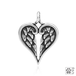 Sterling Silver Healing Angels Pendant -- new