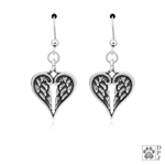 Sterling Silver Healing Angels Earrings -- new