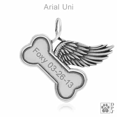 Personalized pet memorial jewelry