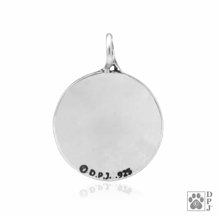 Reflection paws pendant reflection paws charm reflection paws our aloadofball Image collections