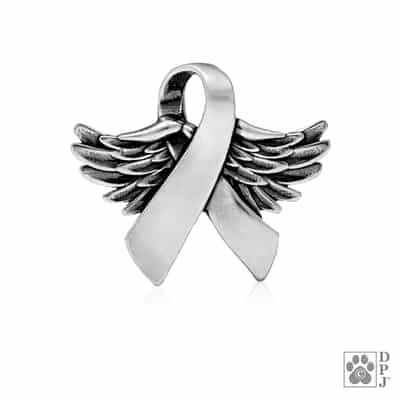 Sterling Silver Wings Of Hope Pendant