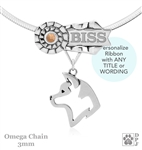 Best In Show Akita Jewelry, Grand Champion Akita Pendant, Best In Show Akita Necklace