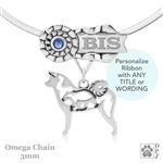 Best In Show Akita Jewelry, Best In Show Akita Pendant, Grand Champion Akita Necklace