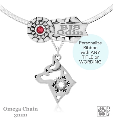 Best In Show Alaskan Klee Kai Jewelry, Best In Show Alaskan Klee Kai Pendant, Best In Show Alaskan Klee Kai Necklace