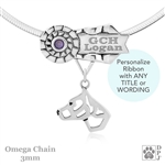 Personalized Best In Show American Staffordshire Terrier Necklace