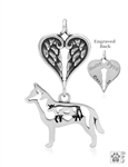 Australian Cattle Dog Memorial Gifts, Sterling Silver Australian Cattle Dog Memorial Jewelry, Pet Loss, Rainbow Bridge, Pet Memorial Jewelry, Dog Memorial Jewelry, Pet Memorial Gifts