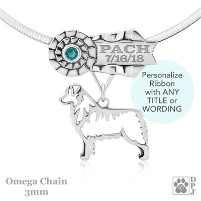 Best In Show Australian Shepherd Jewelry, Best In Show Australian Shepherd Pendant, Best In Show Australian Shepherd Necklace