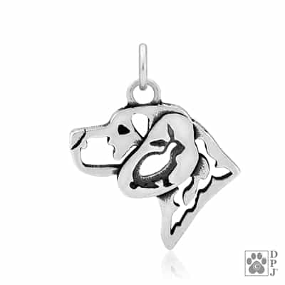 Sterling Silver Beagle Charm, Sterling Silver Beagle Pendant, Sterling Silver Beagle Jewelry, Sterling Silver Beagle Necklace, Beagle Gifts, Beagle Gift, Beagle Lovers, Beagle Breed Jewelry, Dog Breed Jewelry,