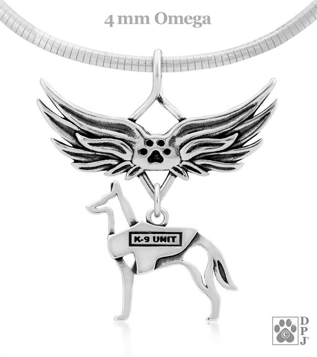 Police Dog Memorial Gift, K-9 Unit Sympathy Gift K-9 Unit Gifts, ...
