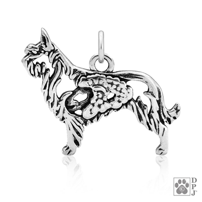 Berger Picard Pendant, Berger Picard Charm, Berger Picard Gifts, Purebred Dog Gifts, Best Berger Picard Gifts, Top Rated Dog Gifts, Berger Picard Dog Mom Gifts,