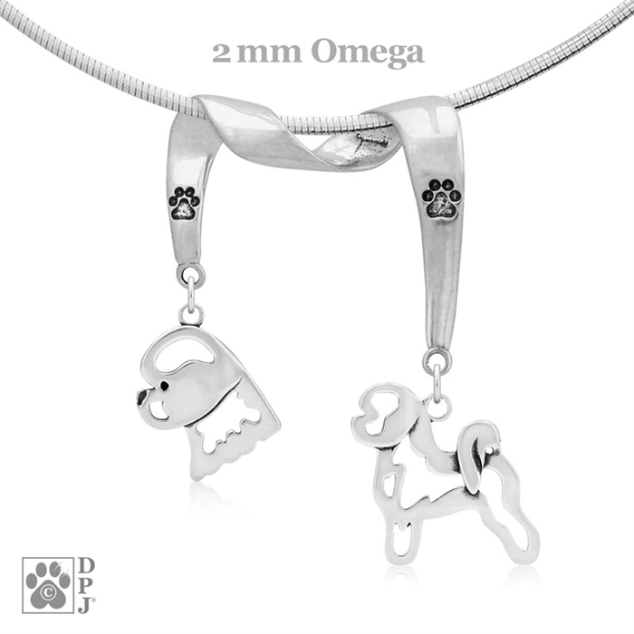 Charms for Bracelets and Necklaces Bichon Frise Charm