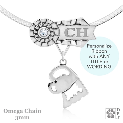Best In Show Bichon Frise Jewelry, Best In Show Bichon Frise Pendant, Best In Show Bichon Frise Necklace