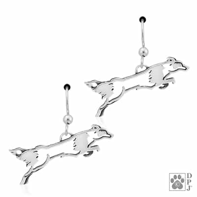 Border Collie Jewelry, Border Collie Earrings