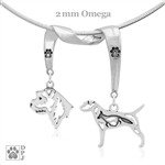 Border Terrier Necklace, Border Terrier Jewelry