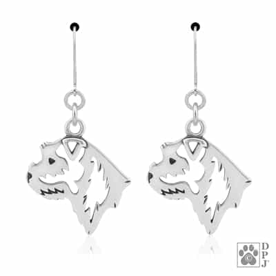 Border Terrier Earrings, Border Terrier Gift