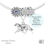 Personalized Best In Show Borzoi Jewelry, Best In Show Borzoi Pendant Necklace, Grand Champion Borzoi, Russian Wolfhound Gifts