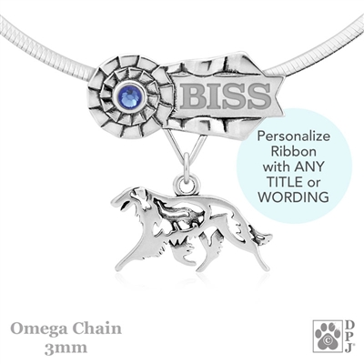 Best In Show Borzoi Jewelry, Best In Show Borzoi Pendant, Best In Show Borzoi Necklace