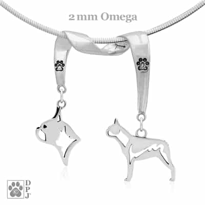 Boston Terrier Necklace, Boston Terrier Gift, Boston Terrier Jewelry