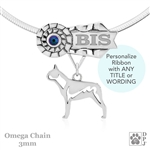 Best In Show Boston Terrier Jewelry, Best In Show Boston Terrier Pendant, Best In Show Boston Terrier Necklace