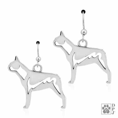 Boston Terrier Earrings, Boston Terrier Gifts