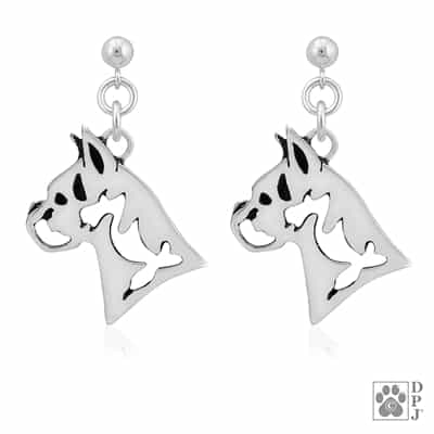 Boxer Earring, Boxer Earrings