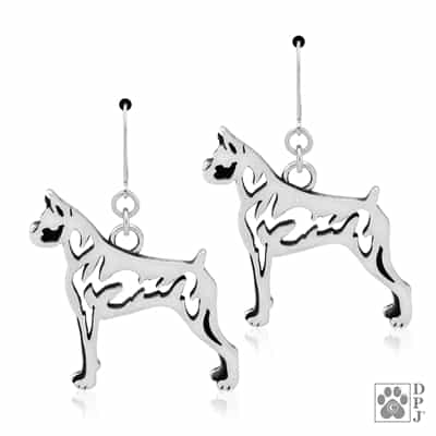 Boxer Earrings, Boxer Gifts