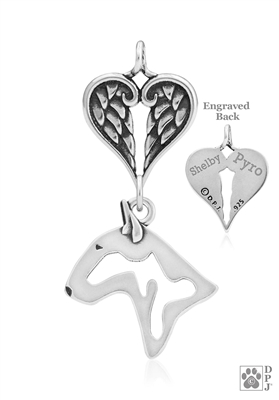 Bull Terrier Memorial Jewelry, Bull Terrier Memorial Gifts, Bull Terrier Memorial Keepsake