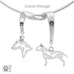 Bull Terrier Necklace, Bull Terrier Jewelry