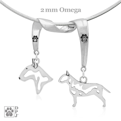 Bull Terrier Necklace, Bull Terrier Jewelry, High Quality Bull Terrier Jewelry, Bull Terrier Pendant, Bull Terrier Charm