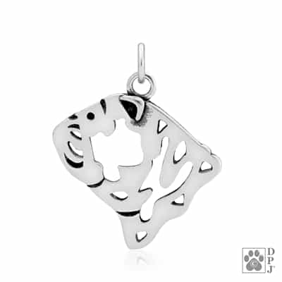 Bulldog Pendant, Bulldog Charm, Bulldog Necklace, Bulldog Gifts, Bulldog Jewelry