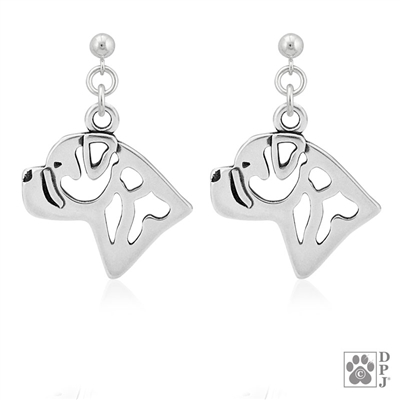 Bullmastiff Earrings, Bullmastiff Jewelry, Bullmastiff Gifts