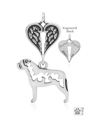 Bullmastiff Memorial Jewelry, Bullmastiff Memorial Gifts