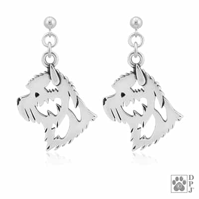 Cairn Terrier Earrings, Cairn Terrier Gifts