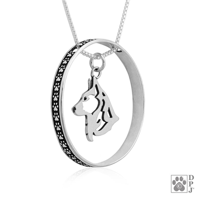 Sterling Silver Cardigan Welsh Corgi Pendant Necklace, Corgi Fine Jewelry, Corgi Gifts, Corgi Lover, Corgi Merchandise, Corgi High End Jewelry