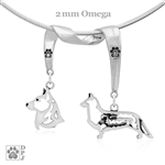Cardigan Welsh Corgi Necklace, Cardigan Welsh Corgi Jewelry, Corgi Charm, Corgi Gifts, Corgi Jewelry